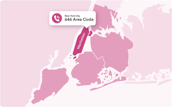 where is 917 area code located in usa