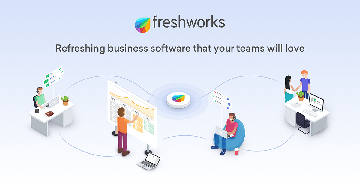 About Freshworks Inc.   Fastest Growing SaaS Start Up