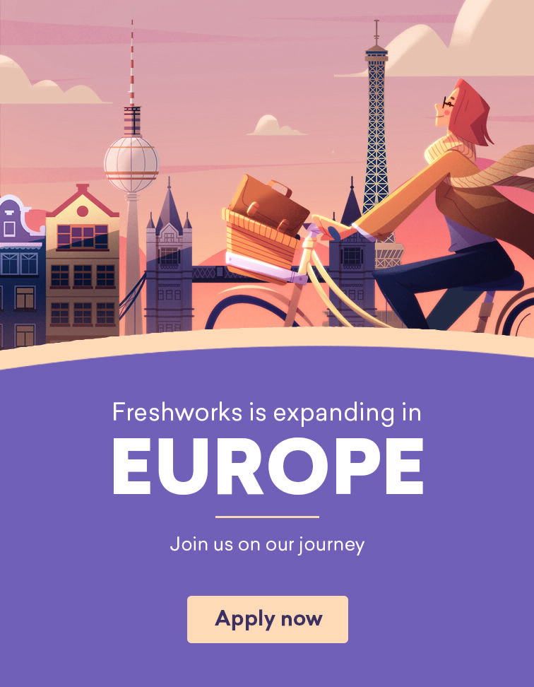 Freshworks Careers | Join The Fastest Growing SaaS Start Up