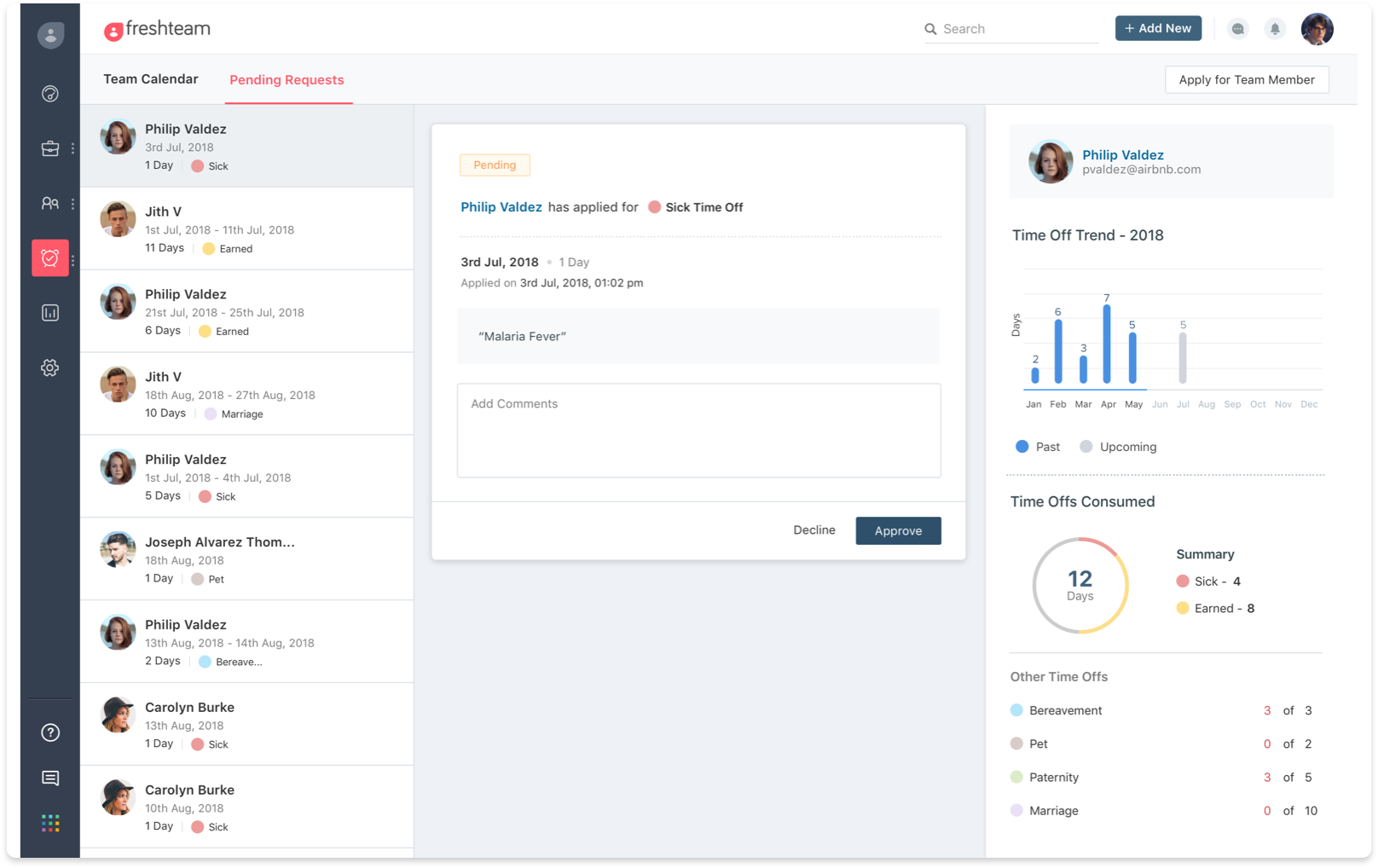 HR software for growing businesses | Freshteam
